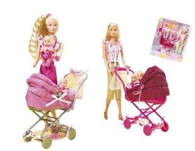 Кукла Штеффи с коляской Steffi & Evi Love (5738060)