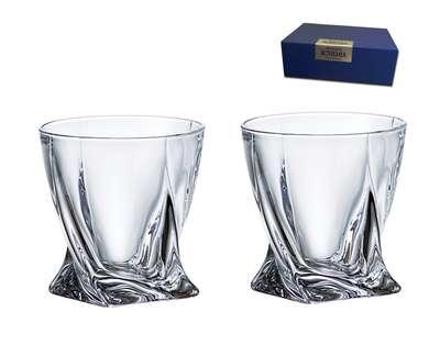 Набор для виски Bohemia Quadro 2 предмета 340 мл. (2K936-99A44-340-2)