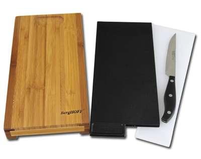 Набор ножей в колоде с разделочной доской BergHOFF 20 предметов (1320014) 60898