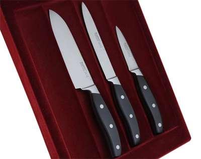 Набор ножей в колоде с разделочной доской BergHOFF 20 предметов (1320014) 60895
