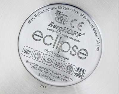 Скороварка Eclipse BergHOFF 22 см., 4 л. (3700067) 61073