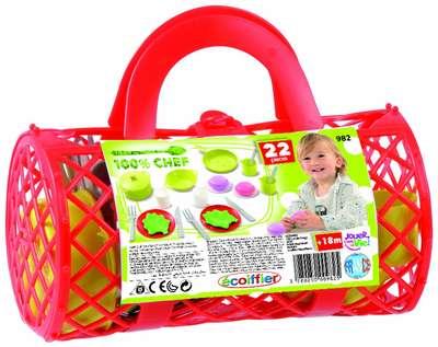 Игровой набор Посуда в сумочке Ecoiffier (982) 74519