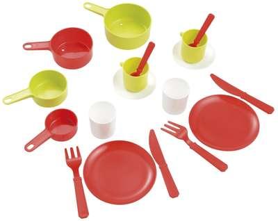 Набор посуды в сковородке Ecoiffier (973)