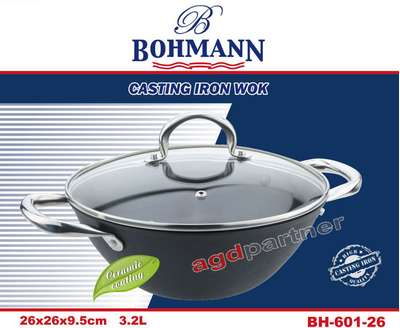 Сковорода вок Bohmann 26 см. (601-26-BH)