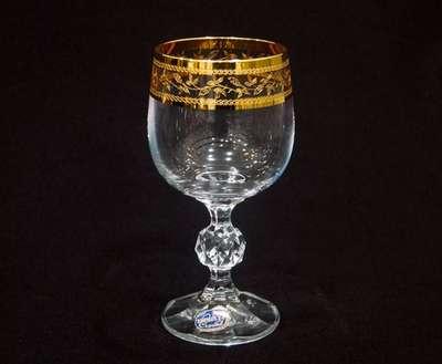 Бокалы для вина Bohemia Claudia Gold 190 мл. (40149/43081/190) 59811