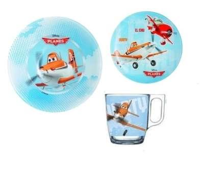 Набор детский Luminarc Disney Planes 3 предмета (J0804)