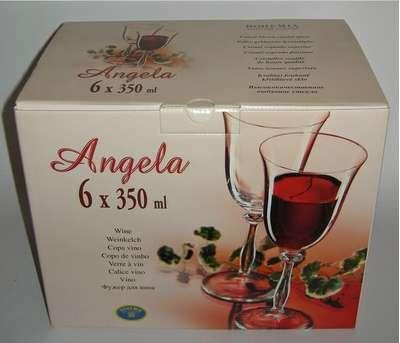 Бокалы для вина Bohemia Angela 350 мл. (40600/350) 60181