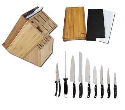 Набор ножей в колоде с разделочной доской BergHOFF 20 предметов (1320014) 60893