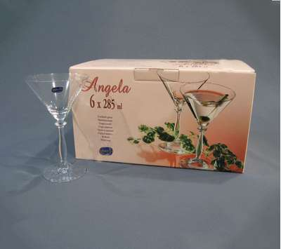 Бокалы для мартини Bohemia Angela 285 мл. (40600/285) 60178