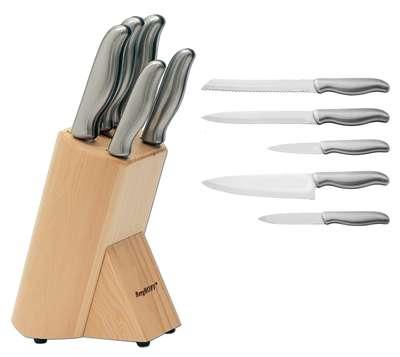Набор ножей в колоде Hollow BergHOFF 6 предметов (1306001)