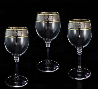 Бокалы для вина Bohemia Olivia 150 мл. (b40346-150)