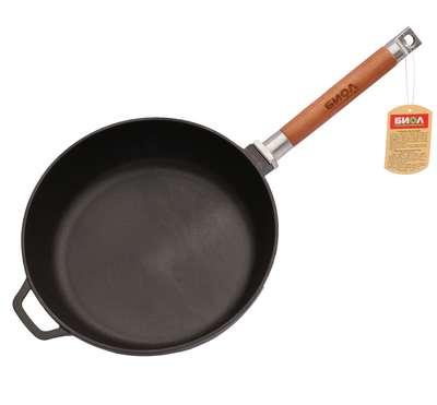 Сковорода чугунная без крышки Биол (326) 68412