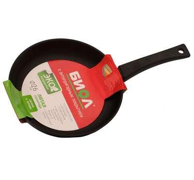Сковорода без крышки Биол 26 см. (2604П) 73419