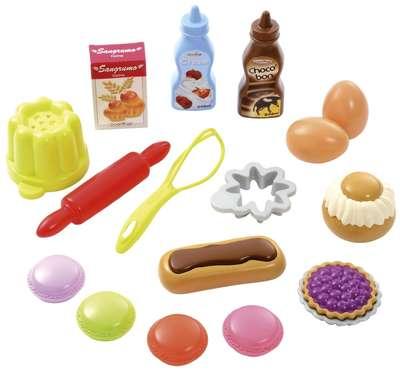 Набор продуктов в сетке Вкусный десерт Ecoiffier (952)