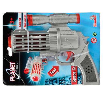 Лазерный бластер Космический солдат Simba (8040735)
