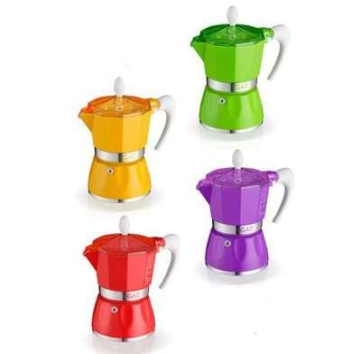 Гейзерная кофеварка на 3 чашки Bella GAT (103803)