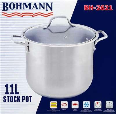 Кастрюля Bohmann 11,5 л. (2621-BH) 64115