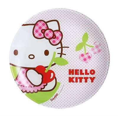 Тарелка десертная Luminarc Disney Hello Kitty Cherries 20 см. (J0023)