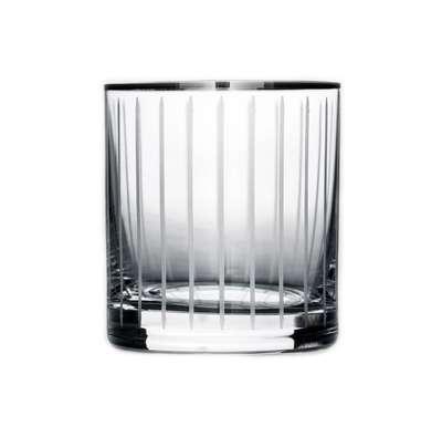 Набор стаканов для виски Bohemia Barline Line платина (18-08-280-6-049)