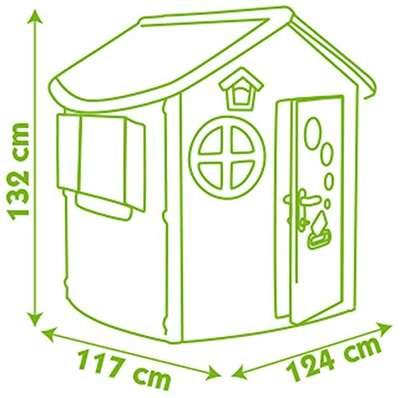 Домик лесника со ставнями и ключом Smoby (310263) 74222