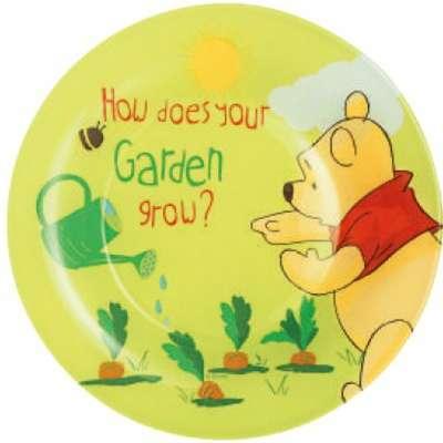 Тарелка десертная Luminarc Disney Winnie Garden 19 см. (h6427)