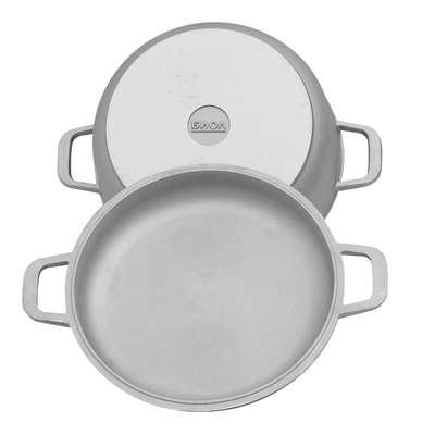 Кастрюля с крышкой сковородой Биол 5 л. (К502)