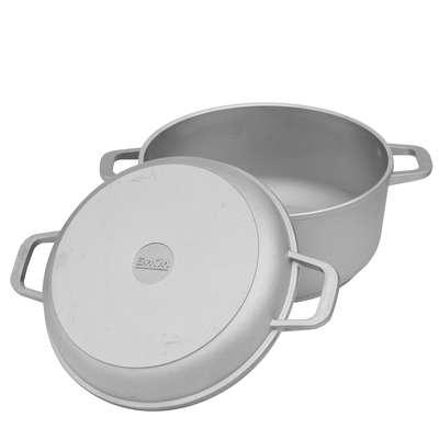 Кастрюля с крышкой - сковородой Биол 4 л. (К402)