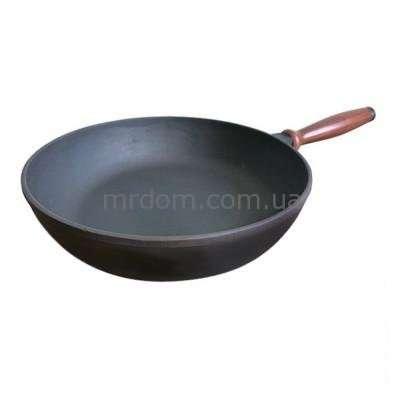 Сковорода чугунная Берлика 24 см. (622018)