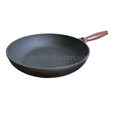 Сковорода чугунная Берлика 28 см. (880012)