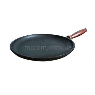 Сковорода для блинов чугунная Берлика 24 см. (128018)