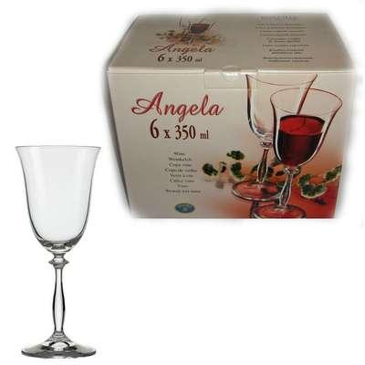 Бокалы для вина Bohemia Angela 350 мл. (40600/350)