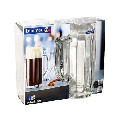 Набор пивных кружек Hamburg Luminarc 2*500 мл. (H5072/1)