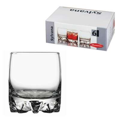 Набор стаканов низких Pasabahce Sylvana 200 мл. (42414)