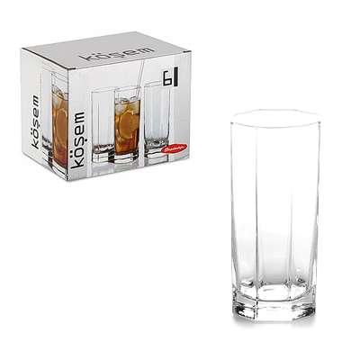 Набор стаканов Kosem Pasabahce 265 мл. (42078)
