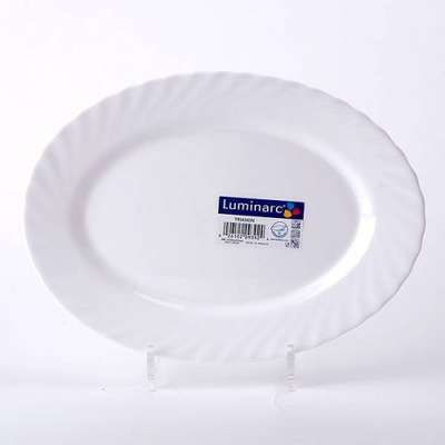 Блюдо овальное Tria Blanc Luminarc 220 мм. (66516)