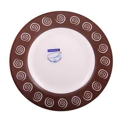 Тарелка суповая Luminarc Sirocco Brown 220 мм. (H4886)