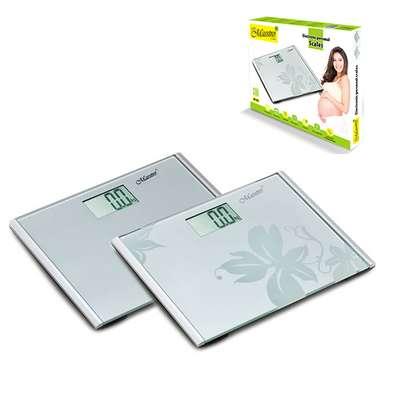 Весы напольные электронные стекло Maestro (MR-1822)