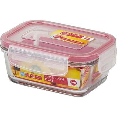 Прямоугольный стеклянный контейнер Clip&Close Emsa 0,85 л. (EM508106)