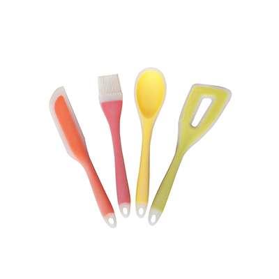 Набор кухоных принадлежностей силикон/нейлон Maestro 4 пр. (MR-1185)