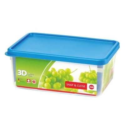 Прямоугольный пищевой контейнер Snap&Close Emsa 3,5 л. (EM508583)