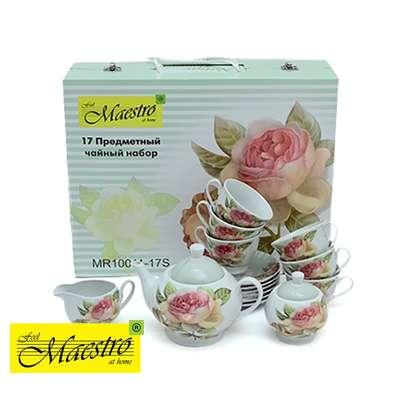 Чайный набор Maestro 17 предметов (MR-10011-17S)