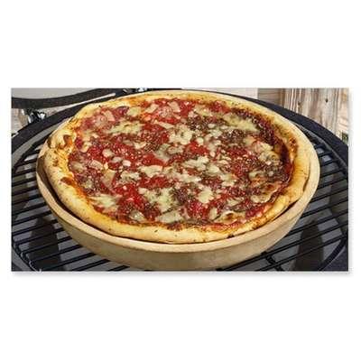 Глубокая керамическая форма для пиццы Big Green Egg 36см (DDBSL)