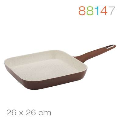 Сковорода гриль Macchiato Granchio 26 см. (88147)