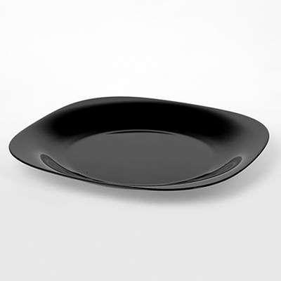 Тарелка обеденная Luminarc Carine black 260 мм. (H3666) 58340