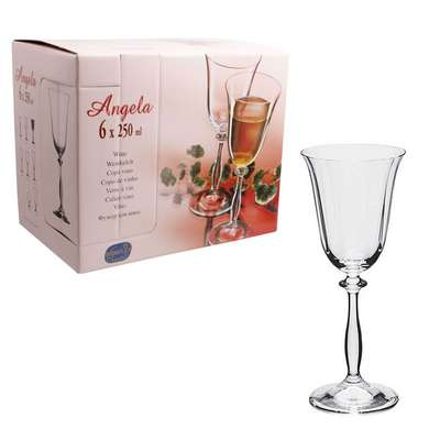 Бокалы для вина Bohemia Angela 250 мл. (40600/250) 60237