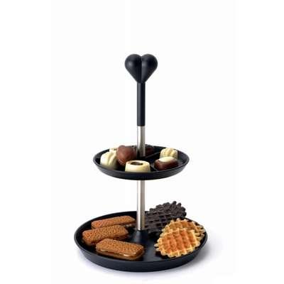 Двухярусная стойка-ваза для печенья или фруктов BergHOFF (3800017)
