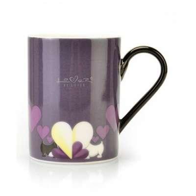 Кофейная кружка фиолетовая Lover by Lover BergHOFF (3800002)