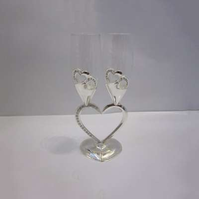 Набор для шампанского Lessner Silver Collection 23 см. (99165)