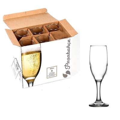 Бокалы для шампанского Pasabahce Bistro 190 мл. (44419)