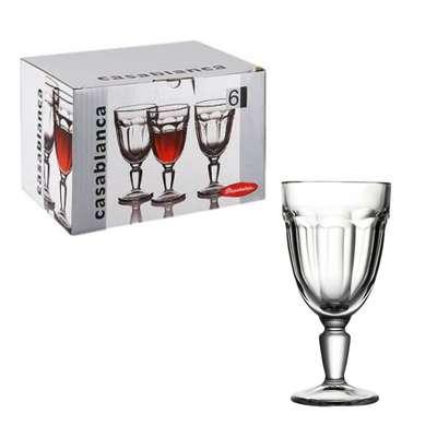 Набор бокалов для вина Pasabahce CASABLANCA 235 мл. (51258)